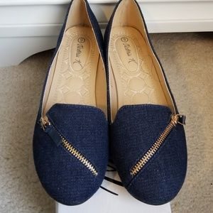 Dark Blue Loafers